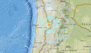 Terremoto, forte scossa di magnitudo 6.2 in Cile
