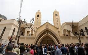 Una chiesa copta al cairo
