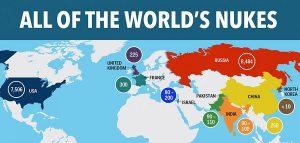 Bomba atomica: ecco quali paesi ce l'hanno, la MAPPA