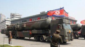 Corea del Nord fallisce il lancio di un nuovo missile balistico