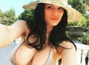"""Cristina Del Basso a Domenica Live: """"Il mio seno si è svuotato..."""""""