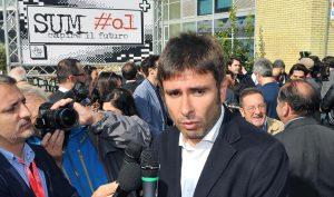 """YOUTUBE Alessandro Di Battista a Sum#01 Ivrea: """"Leopolda grillina? E' da querela!"""""""