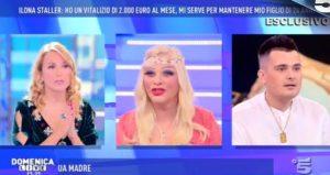 Domenica Live, rissa tra Filippo Facci e l'avvocato di Cicciolina VIDEO