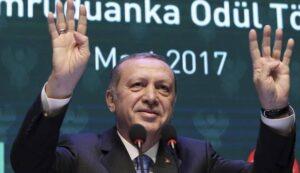 il presidente Recep Tayyip Erdogan (Ansa)