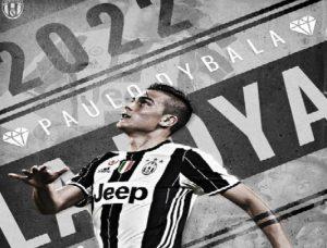 Paulo Dybala ha rinnovato con la Juve fino al 2022: prenderà quanto Higuain