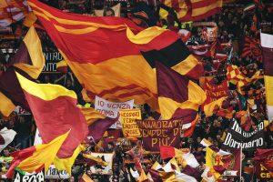 Roma-Lazio 3-2 striscioni, coreografie derby Coppa Italia (FOTO)
