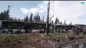 Siria, autobomba ad Aleppo tra gli sfollati: almeno 39 vittime