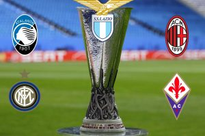 Serie A, volata Europa League: il calendario di Lazio, Atalanta, Milan, Inter, Fiorentina