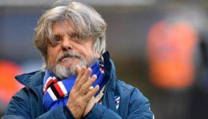 Sampdoria, Massimo Ferrero non è più il presidente a causa del crac Livingston