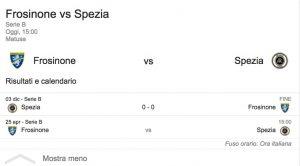 Frosinone-Spezia streaming - diretta tv, dove vederla. Serie B
