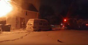 YOUTUBE Gatto scappa dalla casa in fiamme: il miagolio straziante dopo le ustioni