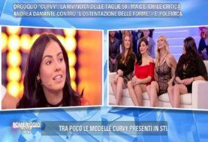 """Pomeriggio 5, Giulia De Lellis contro le modelle curvy: """"Non è un bel vedere..."""""""