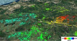Terremoti, registrati movimenti silenziosi delle faglie nella zona del Pollino