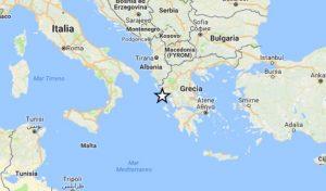 Terremoto, scossa magnitudo 4.0 a largo della costa ionica della Grecia