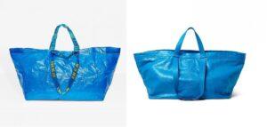 """Balenciaga """"copia"""" Ikea, lei replica: """"Ecco come riconoscere la nostra borsa Frakta"""""""