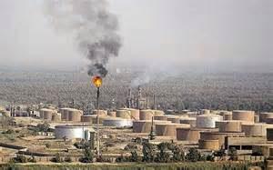 Un campo petrolifero in Iraq