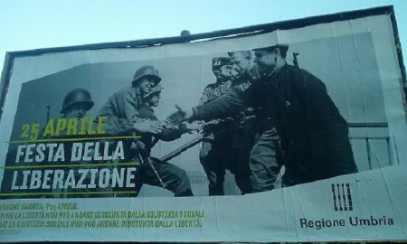 """25 aprile. La """"Liberazione"""" senza partigiani della regione Umbria. Spot con gaffe"""