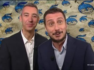 Luca e Paolo al posto di Crozza: l'esordio a diMartedì VIDEO