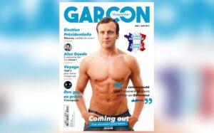 Emmanuel Macron fa coming out: bufera sulla copertina