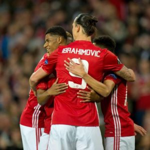 Manchester United-Anderlecht 2-1 highlights Europa League: Rashford decisivo