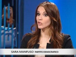 """Sara Manfuso, Pd la mette a tacere. Lei si vendica: """"In tv c'è posto per tutti"""""""