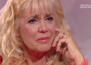"""Maria Teresa Ruta in lacrime in tv: """"Il mio ex Amedeo Goria guarda ancora le ragazze"""""""