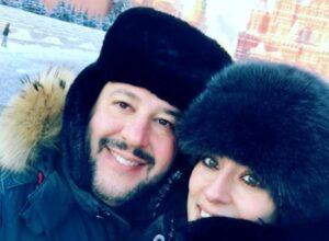 Matteo Salvini e Elisa Isoardi (foto Instagram)