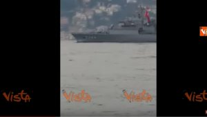 YOUTUBE Navi da guerra nel Mediterraneo: prima i russi, poi i turchi. Dopo raid Usa in Siria...