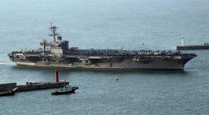 Navi Usa si spostano verso Nord Corea. Che vuole lanciare bombe atomiche su Seul