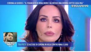 "Nina Moric, Luigi Mario Favoloso a Fabrizio Corona: ""Non ho messo io la bomba"""