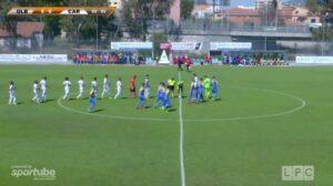 Olbia-Carrarese 1-1: guarda gli highlights Sportube - VIDEO