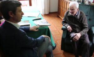 """Andrea Orlando e il capo partigiano per 10 anni in carcere innocente: """"I giudici.."""" """"Lo so lo so..."""""""