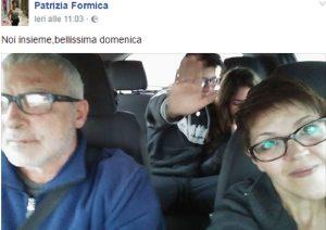 """Patrizia Formica su Facebook: """"Bellissima domenica"""". Poi il compagno Salvatore Pirronello la uccide"""