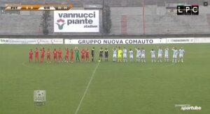 Pistoiese-Olbia Sportube: streaming diretta live, ecco come vedere la partita