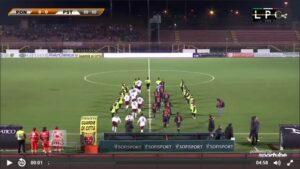 Pontedera-Piacenza Sportube: streaming diretta live, ecco come vedere la partita