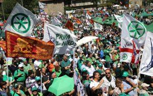 Pontida, 22 aprile: centri sociali di Napoli sul luogo sacro della Lega