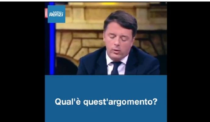 Renzi e il sindaco di Prato (foto Ansa)