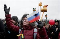 Protesta a Mosca
