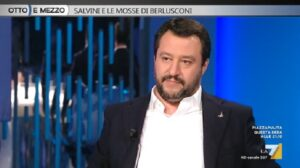 "Inter-Milan, Matteo Salvini contro derby cinese: ""Alle 12,30 per esigenze tv se lo guardino a Pechino"" VIDEO"