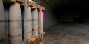 Contenitori di gas sarin