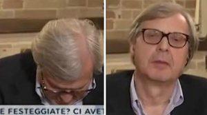 """Sgarbi si addormenta in diretta Tv, Italia Oggi: """"Stava fingendo"""""""