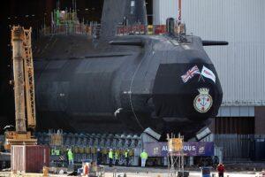 Sottomarino nucleare della Royal Navy Audacious pronto per il varo. Potrà colpire a 1.200 km dalla costa