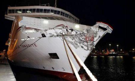 Spagna: ferry contro molo Las Palmas