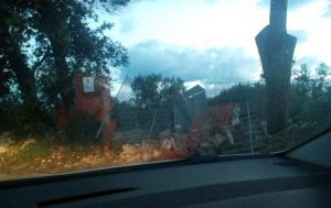 Melendugno: polizia abbatte barricate No Tap. Gli ulivi vengono risistemati