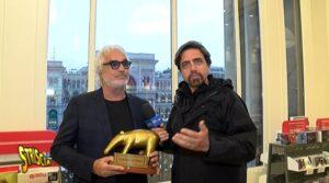 Flavio Briatore, Tapiro d'oro per presunta rottura con Gregorac