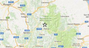 Terremoto Norcia, scossa magnitudo 2.7