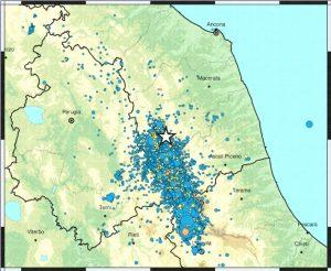 Terremoto, scossa di magnitudo 3.3 a Fiordimonte (Macerata)