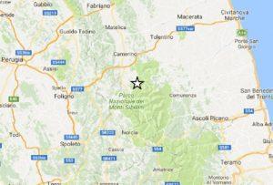 Terremoto Italia Centrale: scosse nella notte, la più forte a Ussita