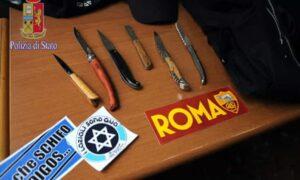 Aggredirono turista svedese che indossava la maglia della Lazio: misure cautelari per alcuni tifosi della Roma