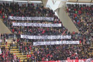Bari: ultras annunciano contestazione all'allenamento di giovedì 13